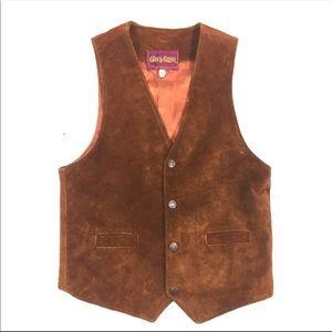 Chevalier Women's Vintage Leather Suede Vest